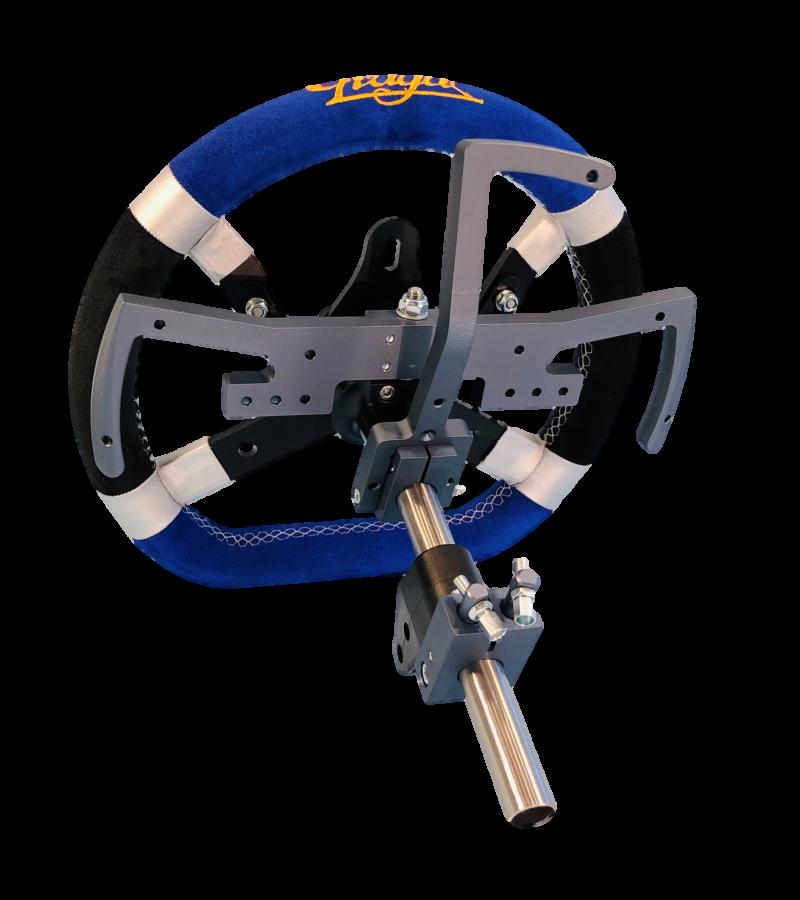 Tech Karting système changement de vitesses volant KZ palettes Paddle Schaltung Shifter F1 action pièce rechange homologation autorisé course homologué
